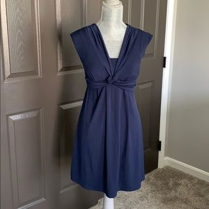 NWT navy sundress size small
